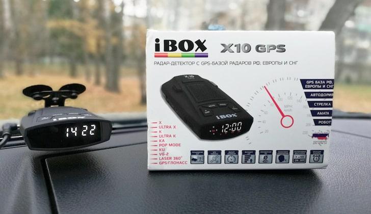 Обновление радара-детектора iBox x10 GPS