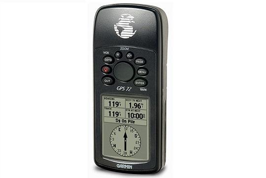 Обзор навигатора Garmin GPS 72