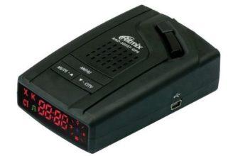 Обзор радар-детектора Ritmix RAD-505ST GPS