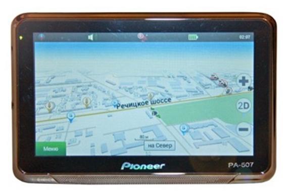 Обзор автомобильного GPS-навигатора Pioneer 507