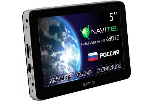 Обзор GPS-навигатора Explay PN-975
