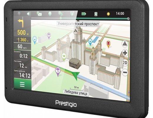Обзор GPS-навигатора Prestigio GeoVision 5059