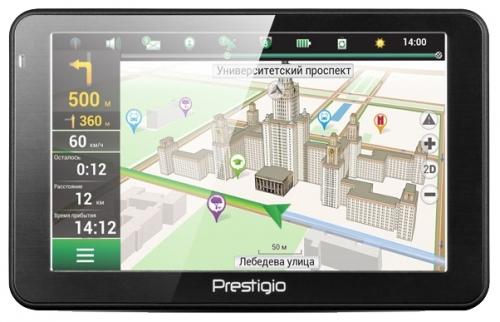 Обзор GPS-навигатора Prestigio GeoVision 5068