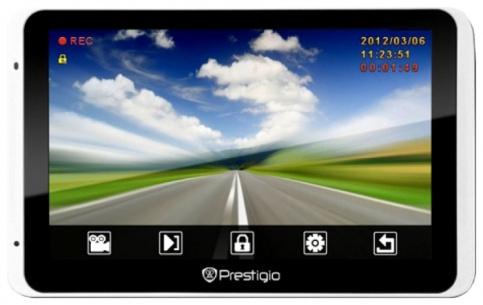 Обзор GPS-навигатора Prestigio GeoVision 5800 BTHDDVR