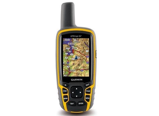 Обзор навигатора Garmin GPS 62