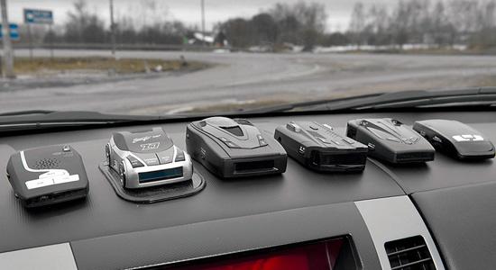 Рейтинг радар-детекторов с GPS и без GPS