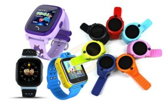 «Умные» детские смарт-часы с GPS-трекером для отслеживания
